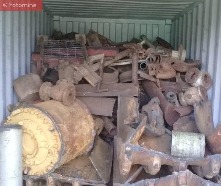 Containerized HMS 1 Scrap Imported from Venezuela to Chennai Port