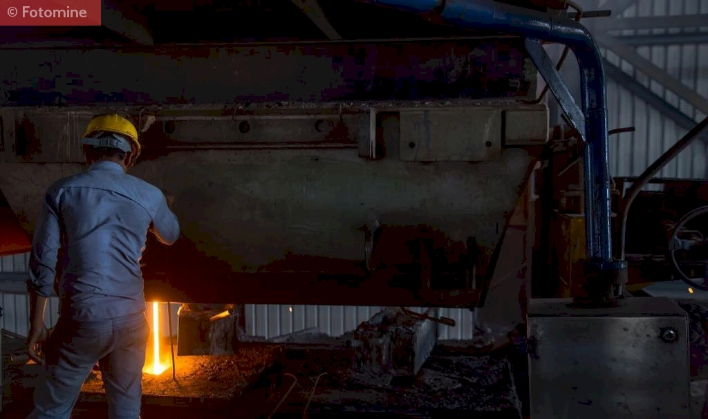 Overview of Induction Furnace in M/s. Mahalakshmi Profiles Pvt. Ltd, Hyderabad