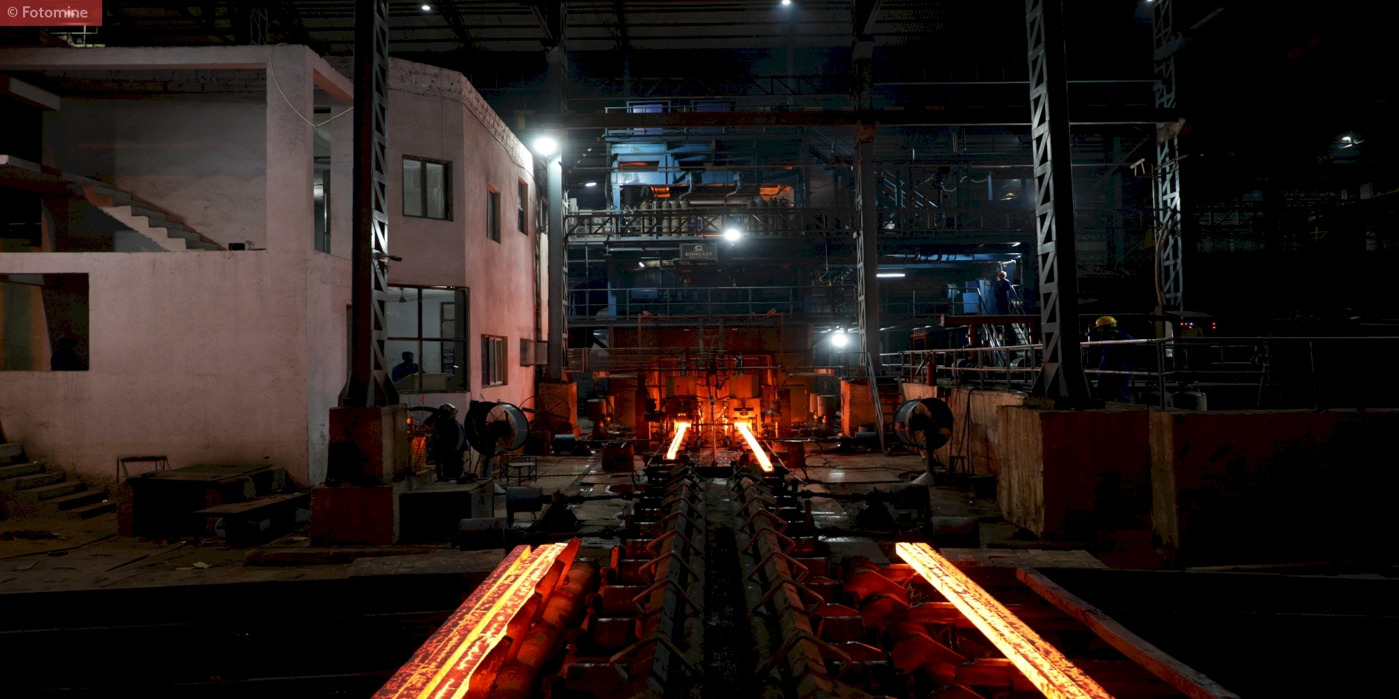 Overview of billet casting & hot charging rolling mill, Haq Steels And Metaliks Ltd, Gujarat