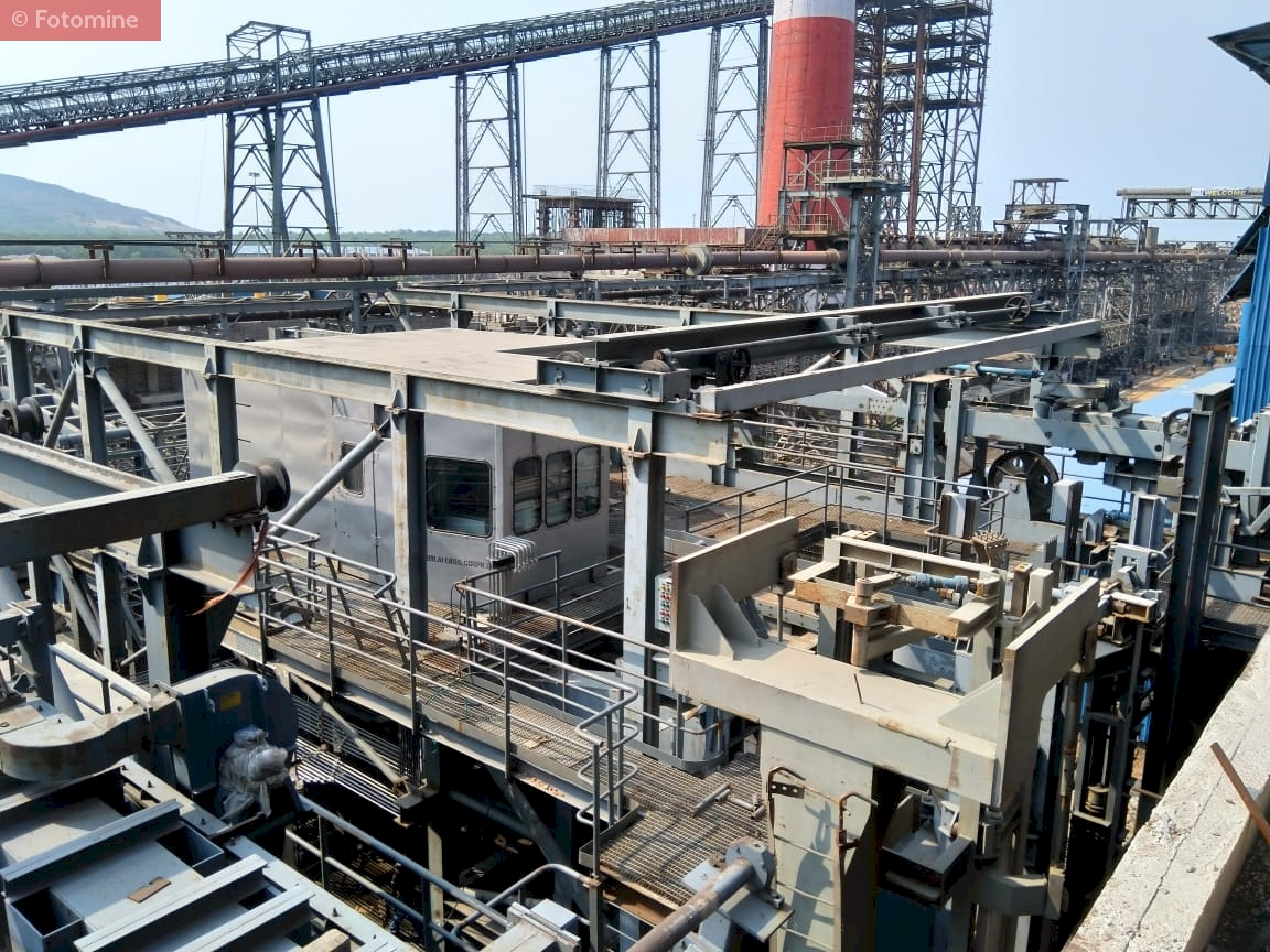 Upcoming Coke Oven Battery 5 at Vizag Steel Plant