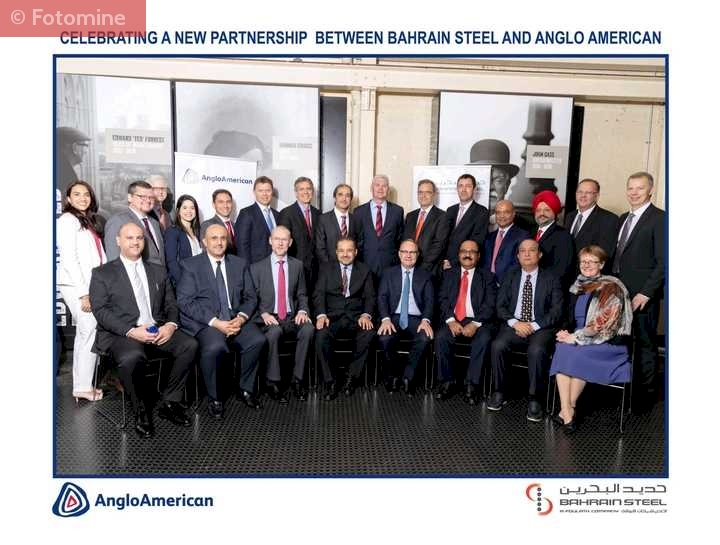 Bahrain Steel Signs 20 Year Pellet Feed Supply Deal with Anglo American