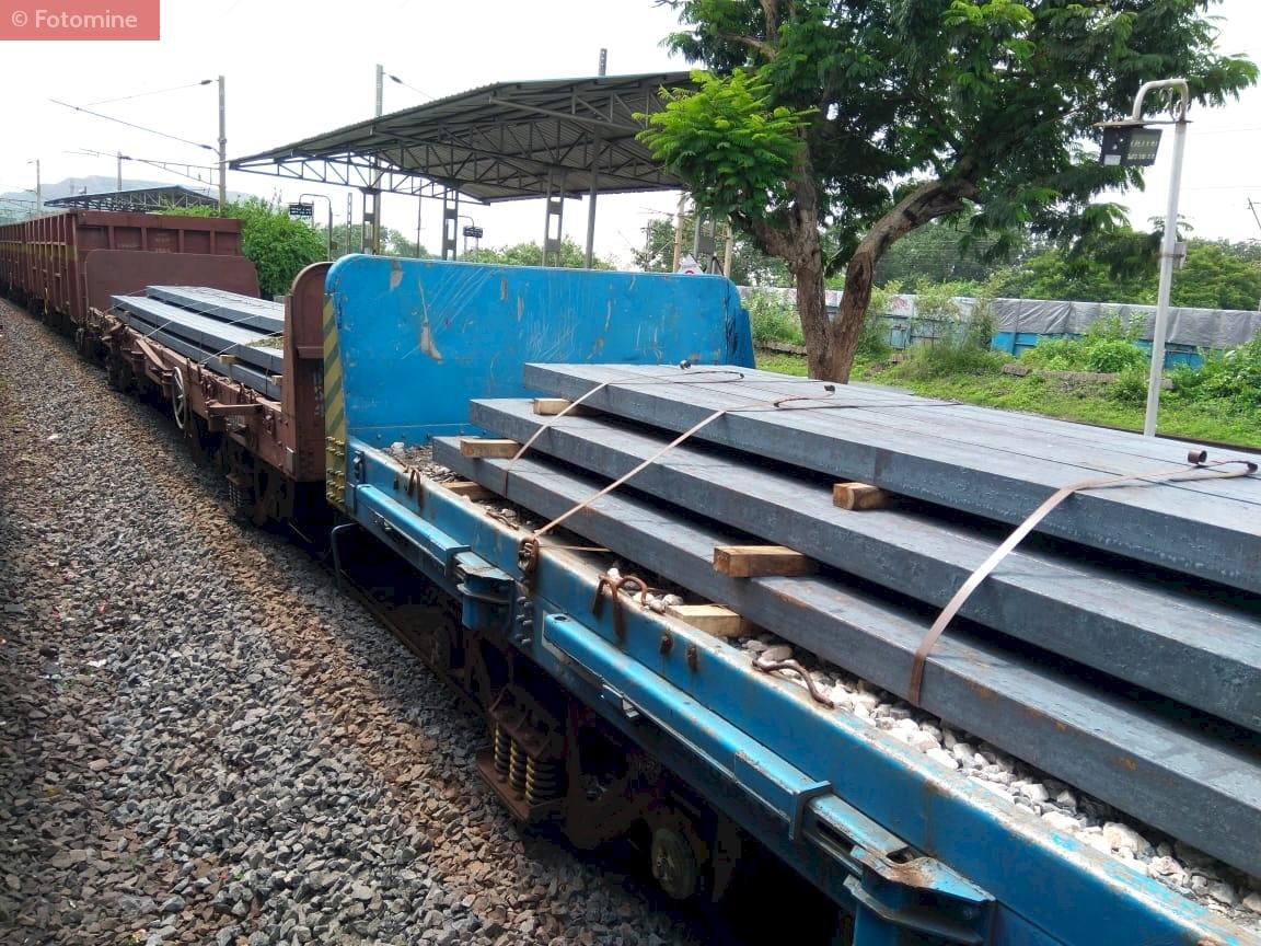 Railway Transportation of HRC & Billets from Steel  Mills to Stockyard