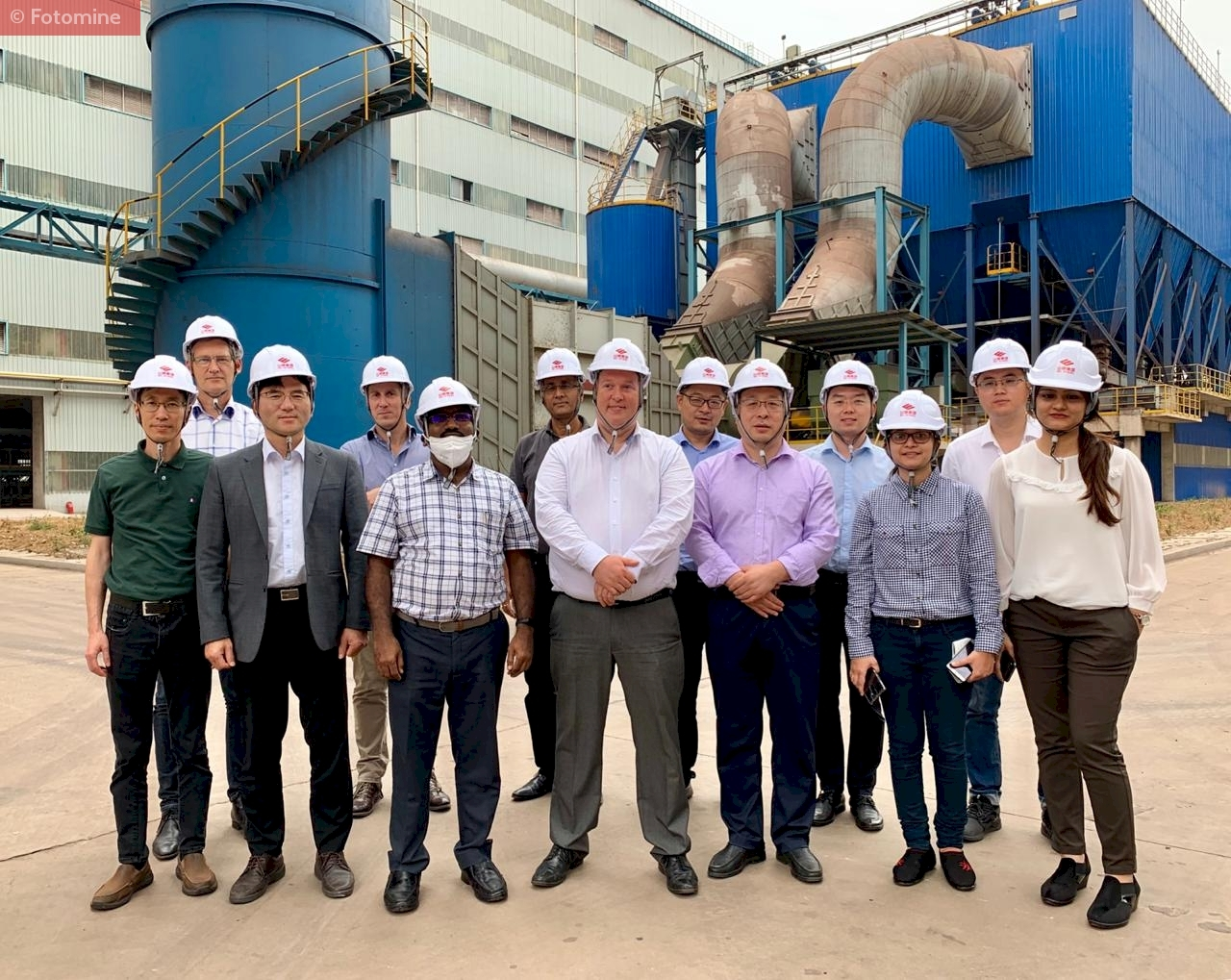 Plant Visit Conducted by SteelMint to China's Rizhao Steel in Shandong Province