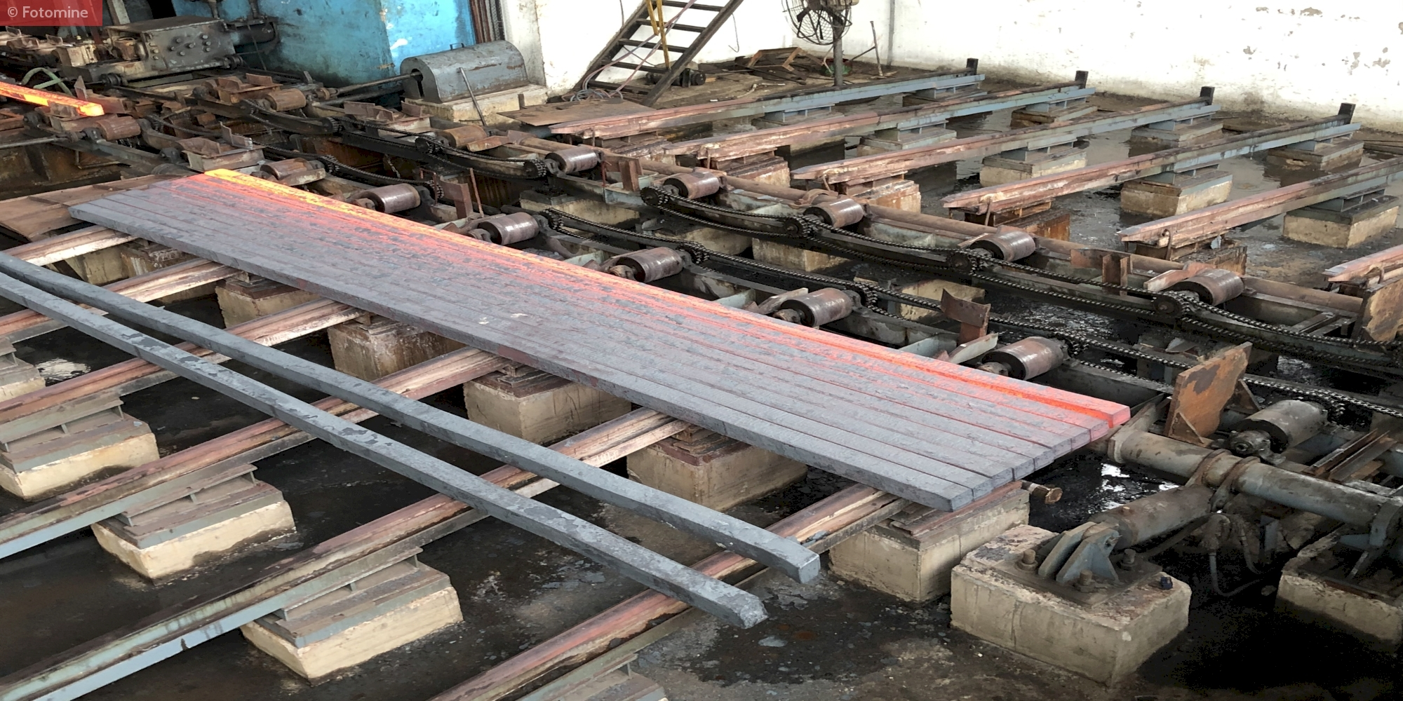 Processing of TMT Rebars in one of the Indian Steel Mill