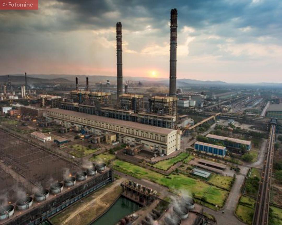 A Glimpse of JSW Plant at Vijaynagar Karnataka