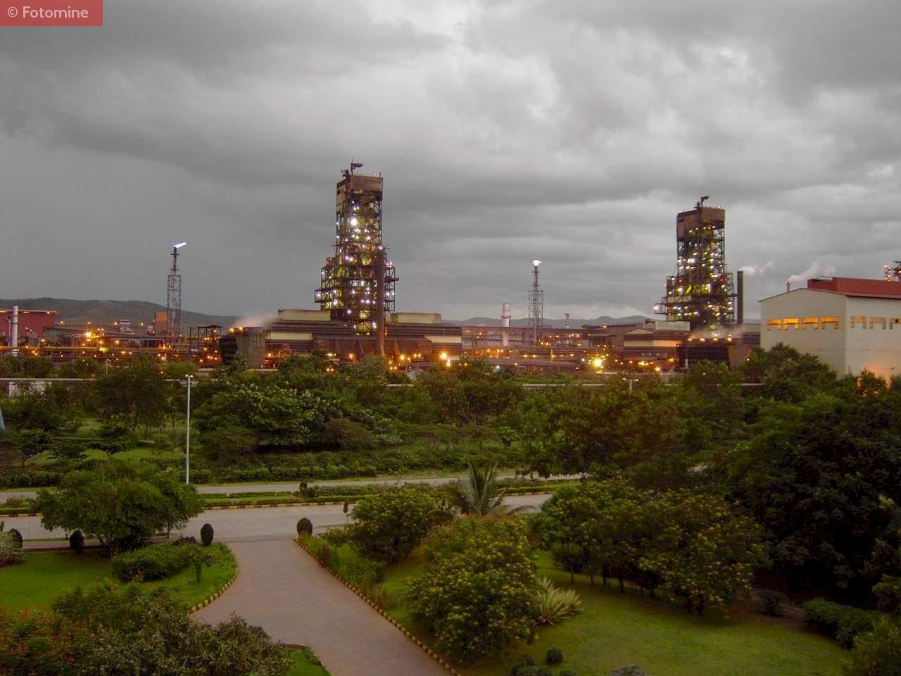 JSW Plant at Vijaynagar Karnataka