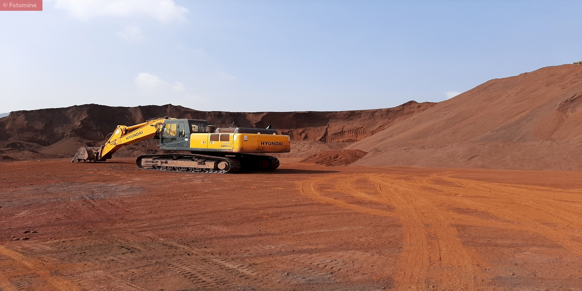 Iron Ore Fines at Mines Under Possession of SR Rungta Group.