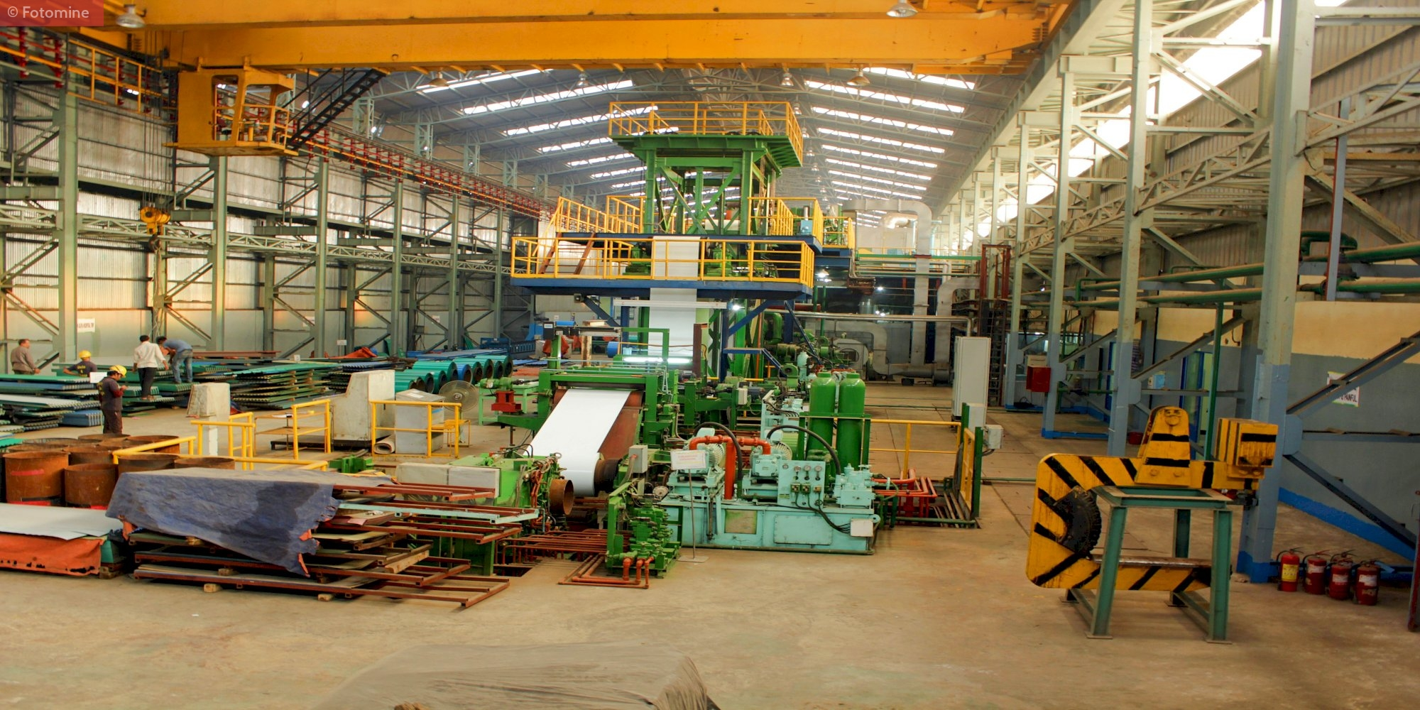 Plant Overview of KYCR Coil Industries - Bangladesh