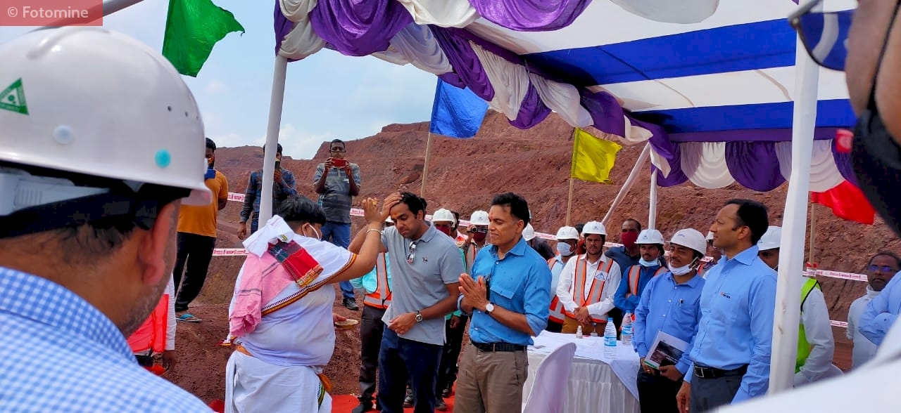 Opening ceremony of Nuagoan mines in Odisha