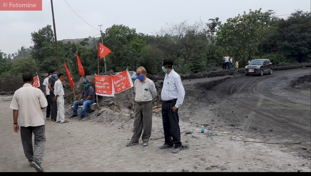 SECL employees protest against commercial coal mining