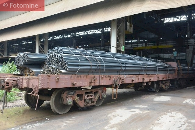 Dispatching Special Grade Structural steel from Bhilai Steel Plant