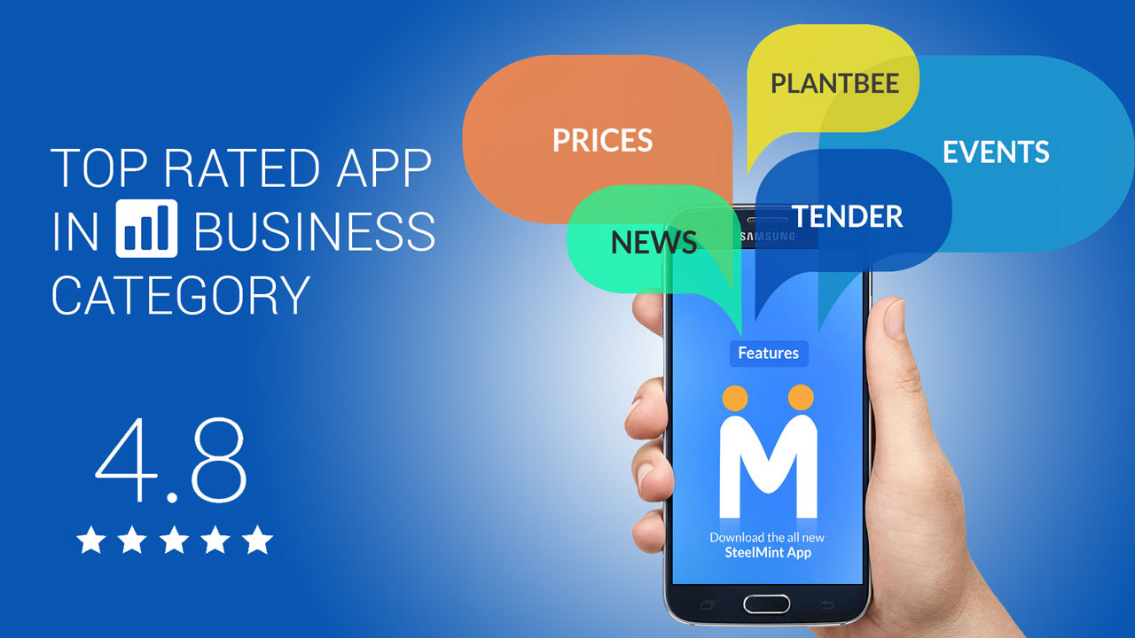 Steelmint Mobile App for Steel Industry News, Prices and Tenders