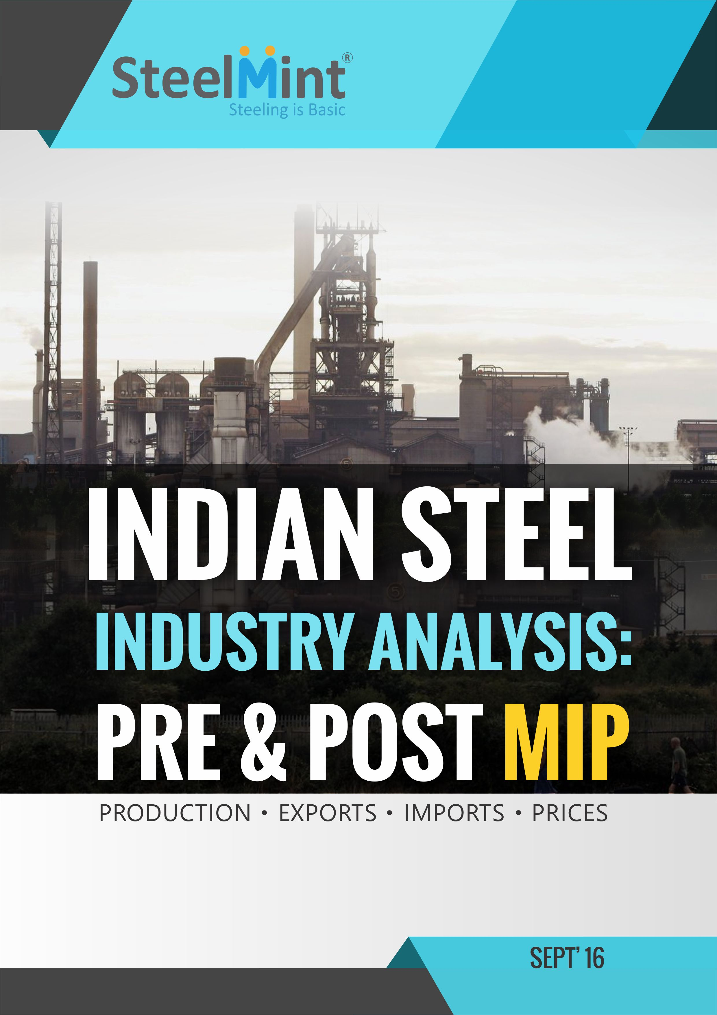 Information On Iron And Steel Industry In India | SteelMint