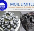 India: No Bids Received in MOIL's Ferro Manganese Auction