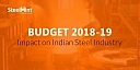 Budget 2018-19: Impact on Indian Steel Industry
