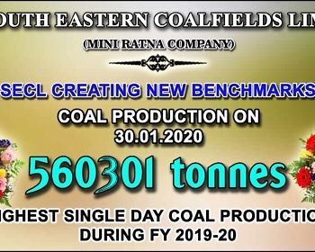 SECL New Production Record